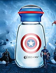 Прозрачный Стаканы, 400 ml Теплоизолированные Стекло Сок Молоко Бутылки для воды