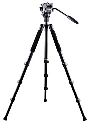 professional camera tripod with video head alloy aluminum video tripod NT-767