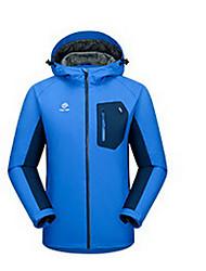 Trilha Blusas Unissexo Secagem Rápida Primavera Verão Outono Vermelho Azul Escuro Azul Claro M L XL Esportes Relaxantes