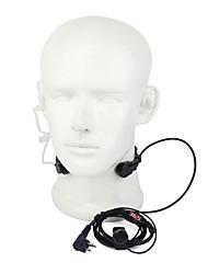 m étirable écouteurs vibrations de la gorge avec micro pour gp3688 tc500s GP88 et d'autres avec le même port avec un earbud