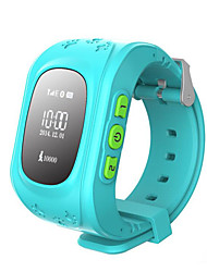 GPS LBS Double Location Safe Activity Tracker Children Wristwatch  Kids Smart Watch