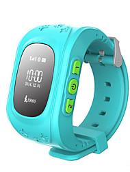 GPS фунта двойное расположение безопасной деятельности трекерные детей наручные часы дети умные часы