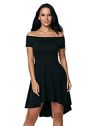 Women's Black All The Rage Skater Dress