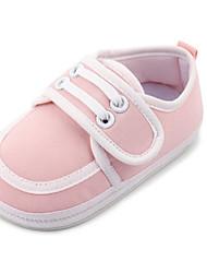 Bebê-Rasos-Primeiros Passos-Rasteiro-Azul Rosa claro-Couro Ecológico-Ar-Livre Casual