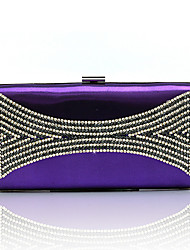 L.west Women's fashion diamond Dinner Bag
