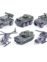 Military Vehicle Vehicle Playsets 1:87 Metal Plastic Green