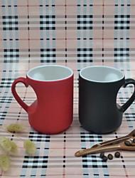 Minimalisme Articles pour boire, 310 ml Sensible à la chaleur couleur changeante Boyfriend cadeaux Girlfriend cadeaux Céramique Café Lait