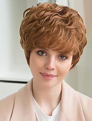 новый образец пушистые горячие модели привлекательный человек парик волосы