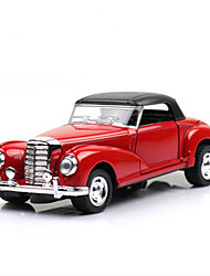 Classic Car Race Car Toys 1:28 Metal Plastic Red