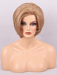a buon mercato parrucche per le donne in bianco e nero naturale breve acconciatura dritto