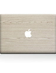 For MacBook Air 11 13/Pro13 15/Pro with Retina13 15/MacBook12 Light Color Wood Grain Decorative Skin Sticker