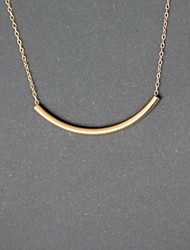 Necklace Non Stone Choker Necklaces Jewelry Daily Casual Euramerican Fashion Personalized Alloy 1pc Gift Yellow Gold