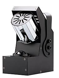 u'king® 30w 4 em 1 levou RGBW rolo efeito fase de iluminação com 8 do lado do prisma rotativo 1pcs 7CH