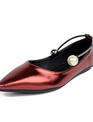 Women's Loafers & Slip-Ons/Pearl/Foot Ring/Comfort/Novelty/Leather/Skirt Dress