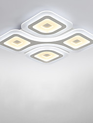 Flush Mount ,  Modern/Contemporary Electroplated Feature for LED Metal Living Room Bedroom Dining Room Kitchen Study Room/Office