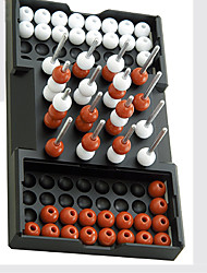 Three-dimensional Four Eye Chess Intelligence Toy For Children Toys Leisure Hobby Toys Novelty Sphere Plastic Red White For Boys For Girls