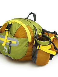 15 L Ceinture poche Camping & Randonnée Escalade Fitness Sport de détente Course Extérieur Utilisation Sport de détenteEtanche Zip
