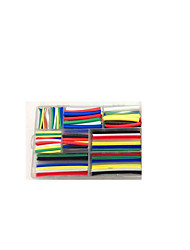 385Pcs Triple Heat Shrinkable Tube Combination Boxed Suit Black And Red White Blue Green Yellow Transparent
