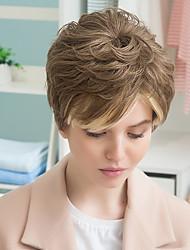 новый образец пушистый смешивания цветов продаже товаров парик человеческих волос