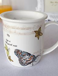 Desenho Artigos para Bebida, 300 ml Decoração Cerâmica Café Leite Xícaras de Chá