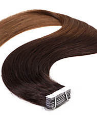 Neitsi T2/8# 20'' 50g Ombre Skin Weft Remy Tape in Straight Human Hair Extensions 20Pcs/pack