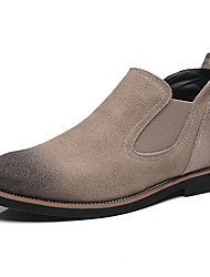 Men's Fashion Casual Genuine/Real Suede Leather Shoes