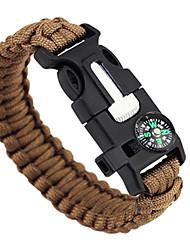 Bracelet de survie Extérieur Randonnées Camping Voyage Multi Fonction Nylon
