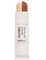 3 Concealer/Contour Rouge Highlighter & Selbstbräuner Trocken Stift Abdeckung Rosig Gesicht Mehrfarbig WODWOD