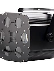 u'king® 15w quadrados 6 LEDs 6CH rgb modos de efeito de palco bolha luz dmx512 controle de voz 1pcs