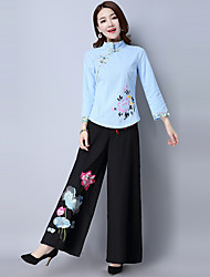 2017 Spring and Autumn new costume Han Chinese clothing costume cotton Republican improved Chinese-style jacket Chinese style Women
