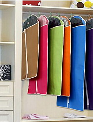 Storage Bags Storage Units Closet Organizers Textile withFeature is Open  For Cloth Clothes Dust Cover Suit Dust Cover Random Color