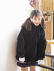 знак мэн сестра важно зимой с капюшоном шар меха поддельные два свитера подол гипотенузы