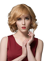 Meticulously Designed Blonde Short Curly Human Hair