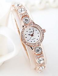Mulheres Relógio de Moda Quartzo Lega Banda Legal Casual Ouro Rose Ouro Rose