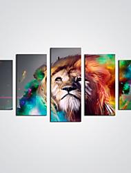 Холст для печати Абстракция Животное Modern,5 панелей Холст С картинкой Декор стены For Украшение дома