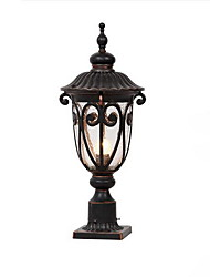 Villa Round Pillar Lights Wall Lamp