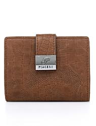 Визитница / бумажник-Унисекс-ПВХ Яловка-На каждый день Для шоппинга Для офиса
