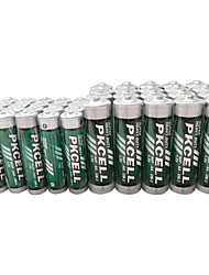Pkcell R03p AAA R6p AA Dry Cell Battery 1.5V 40 Pack