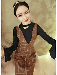 signe manche corne 2017 talonnage costume chemise + robe à carreaux