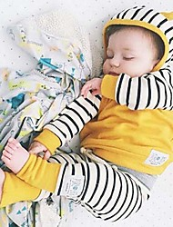 Baby Unisex Casual/Daily Striped Clothing Set,Stripes Cartoon Spring Fall All Seasons