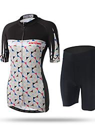 XINTOWN® Women Bike Sport Bicycle Clothing Cycling Jersey Cycling Short sleeve Wear Short Suit