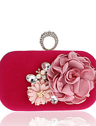 L.WEST Women's fashion flowers at the banquet bag ring bag evening bags