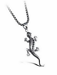 Men's Pendants Titanium Steel Animal Shape Basic Fashion Silver Jewelry Daily Casual 1pc