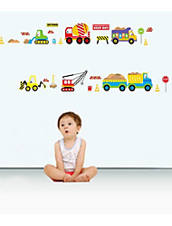 Lovely Car Truck Sitting Room The Bedroom Of Children Room Wall Stickers