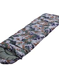 Sac de couchage Rectangulaire Simple -10  0 10 Coton creux75 Camping ExtérieurRésistant à l'humidité Etanche Respirabilité Flanelle