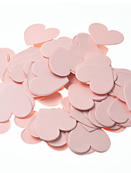 100pcs/pack Paper Confetti 3cm Round/Star/Heart Birthday Decor Baby Shower Cake Topper Table Decoration Even Party Supplies