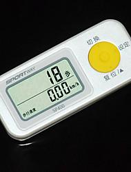 Педометры ЖК дисплей Батарея ABS