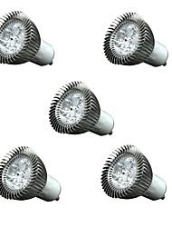 3w gu10 / e27 / e14 führte Scheinwerfer 3 200-250 lm warmweiß dimmbar dekorative AC110 AC220 v 5 Stück