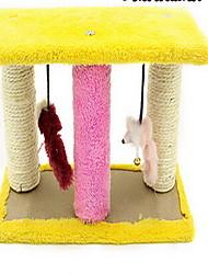 Brinquedo Para Gato Brinquedos para Animais Interativo Durável Sisal