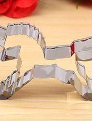 unicornio cortador forma de galletas, l 8,4 cm x A xh 5,7cm 2cm, de acero inoxidable